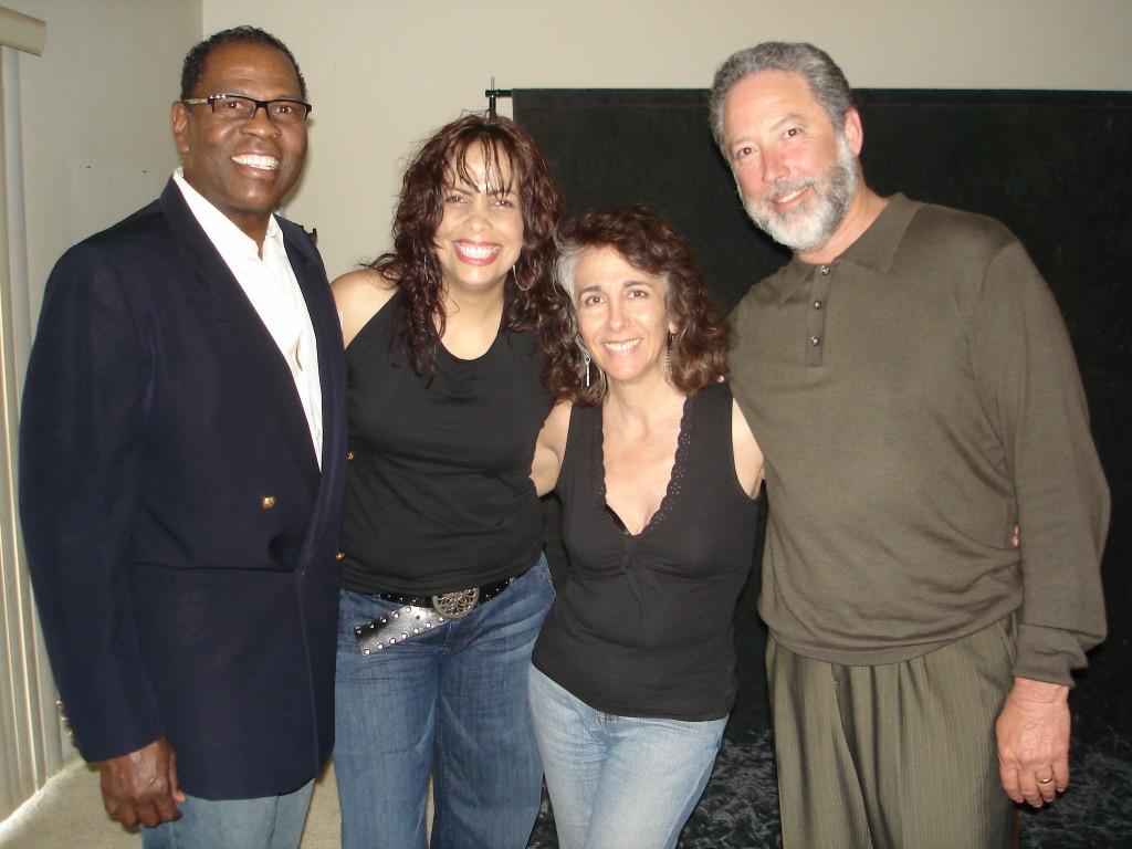 Jimmer Bolden, Gina Eckstine, Cathy Segal-Garcia, Ron Kaplan