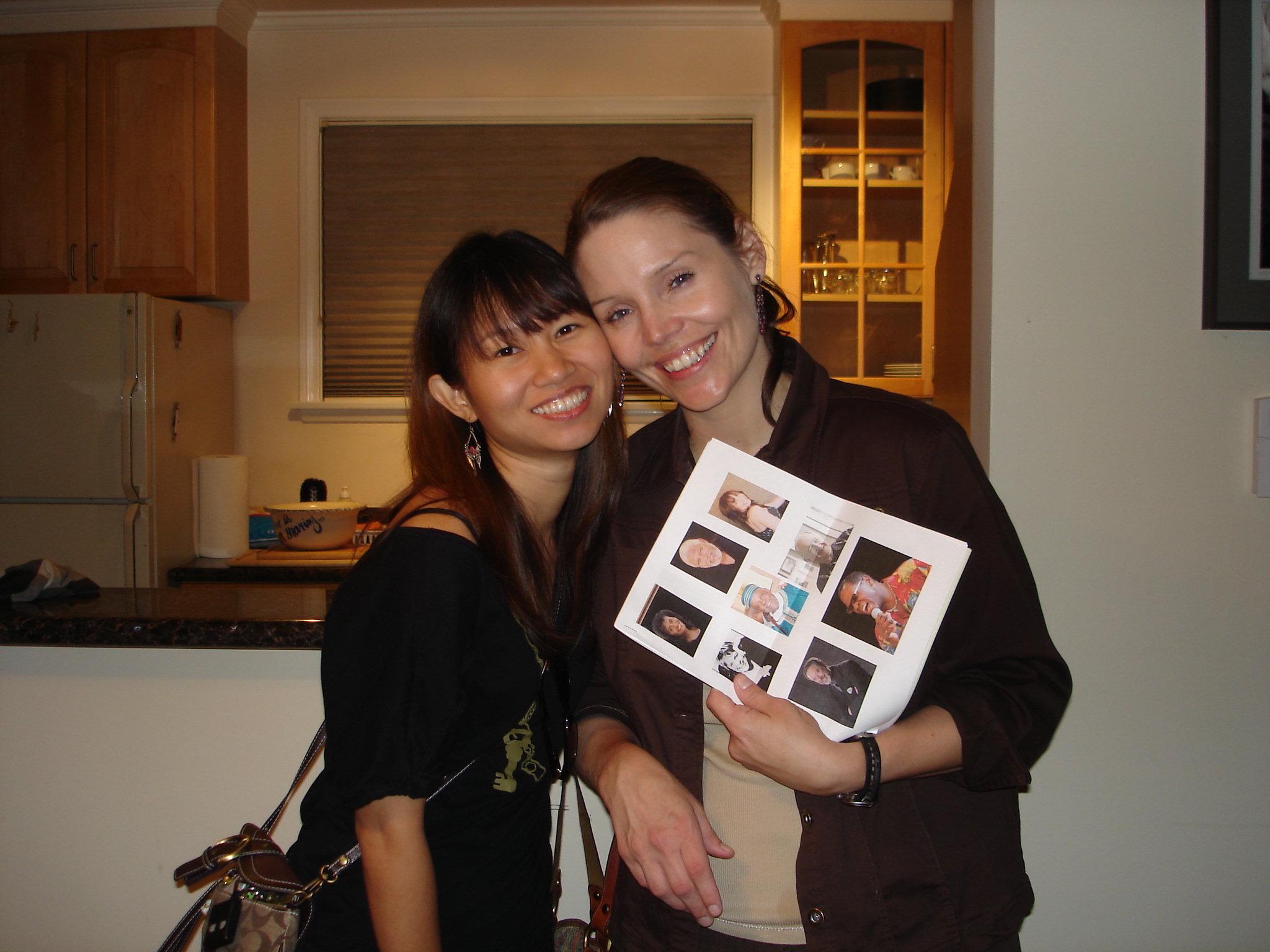 Kitty W and Tammy Moran